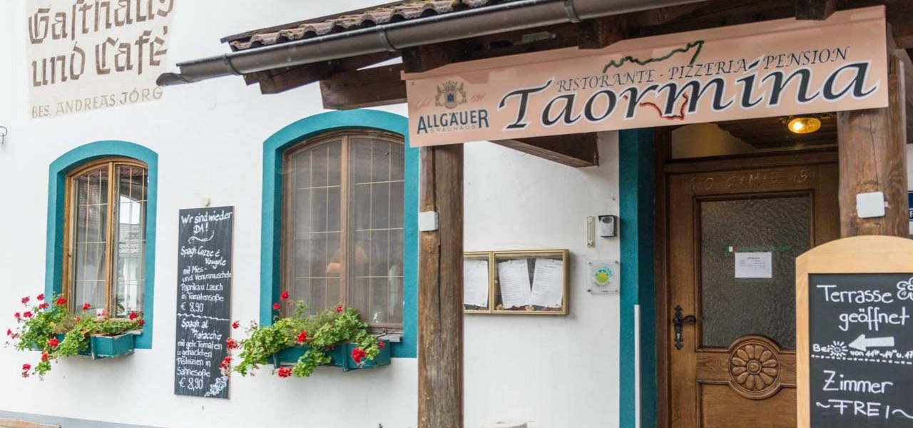 Eingang Taormina